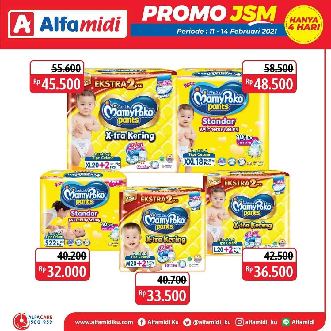 Promo diskon Katalog Promo Alfamidi JSM Terbaru Periode 11 - 14 Februari 2021