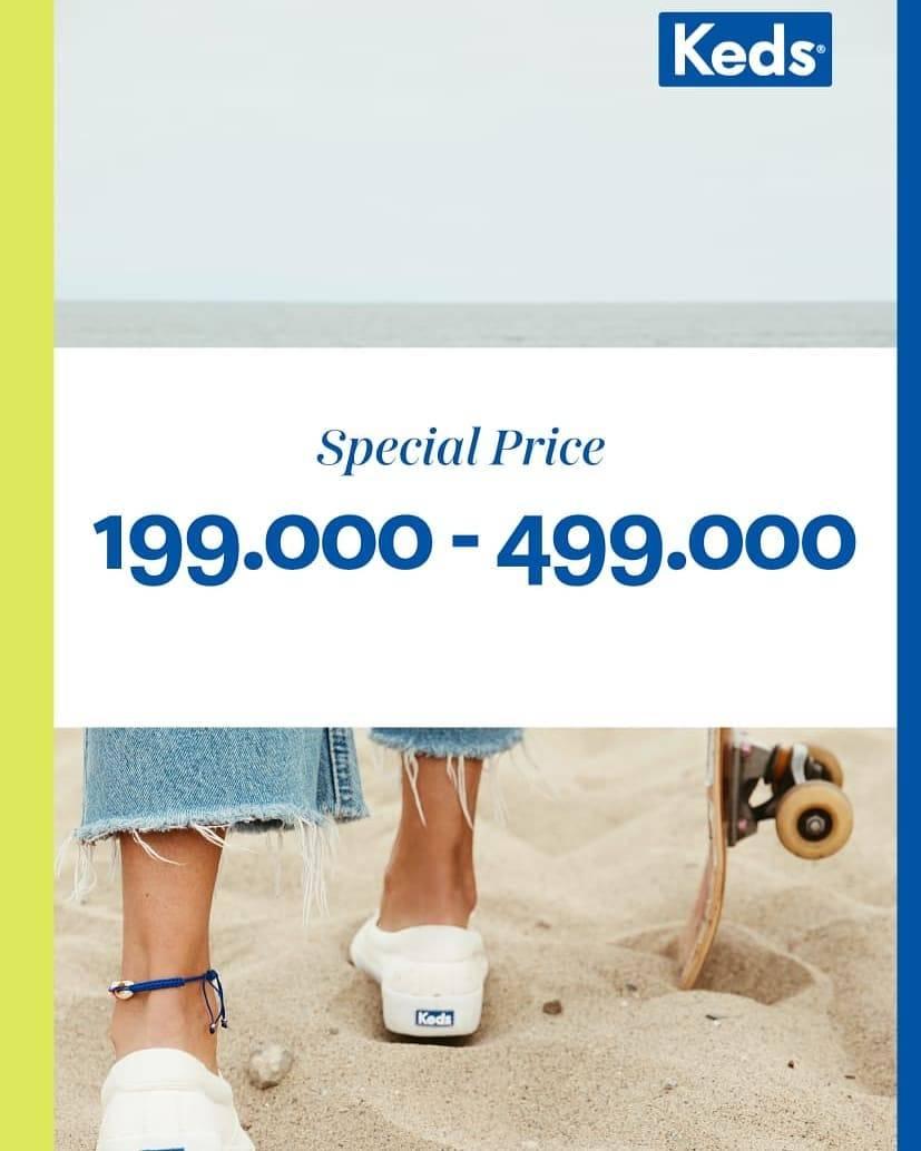 Diskon Keds Gandaria City Special Price Start From Rp. 199.000 - Rp. 499.000