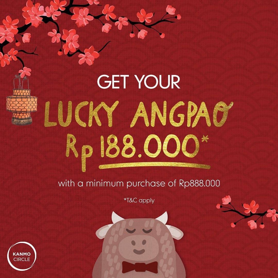 Promo diskon Mothercare Get Your Lucky Angpao Rp. 188.000