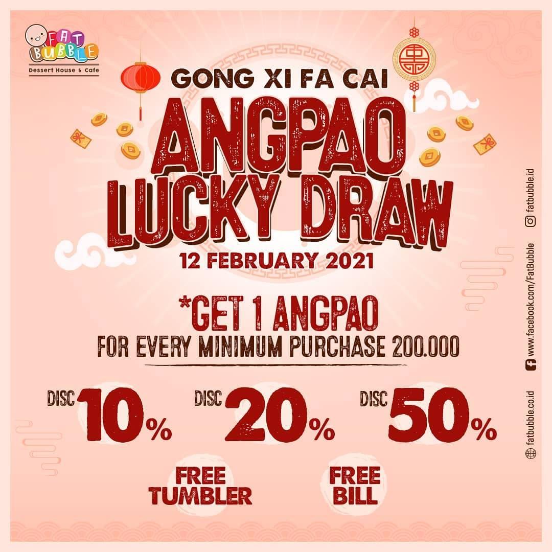 Diskon Fat Bubble Promo Angpao Lucky Draw
