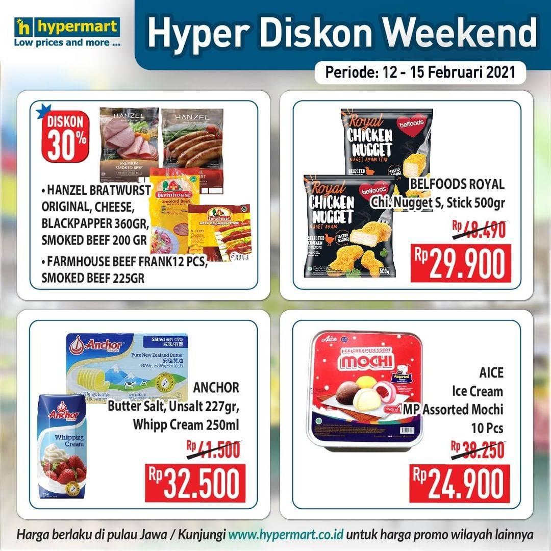 Diskon Katalog Promo Hypermart JSM Weekend Periode 12 - 15 Februari 2021