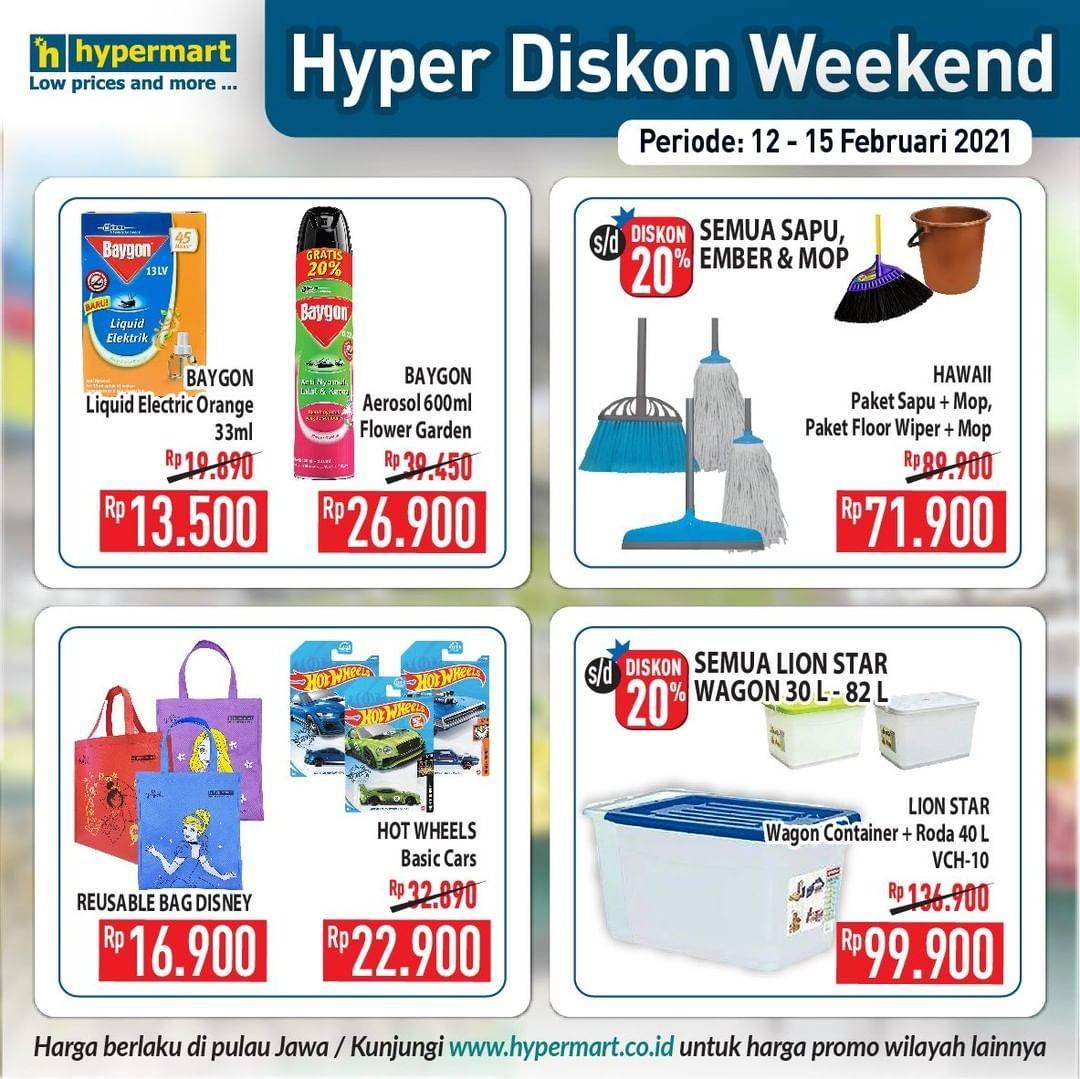 Promo diskon Katalog Promo Hypermart JSM Weekend Periode 12 - 15 Februari 2021