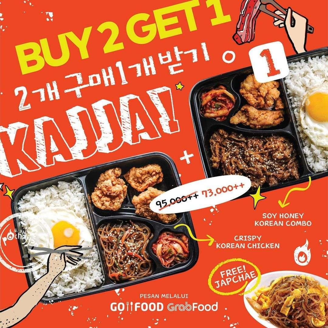 Diskon Pochajjang Buy 2 Get 1 Free