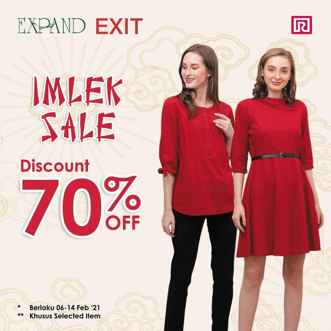 Diskon Ramayana Discount Up To 70% Off For Exit & Expand Collection