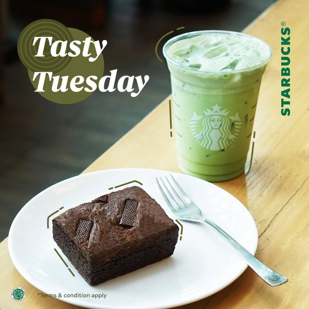 Diskon Starbucks Tasty Tuesday Diskon 50% Untuk Makanan/Minuman