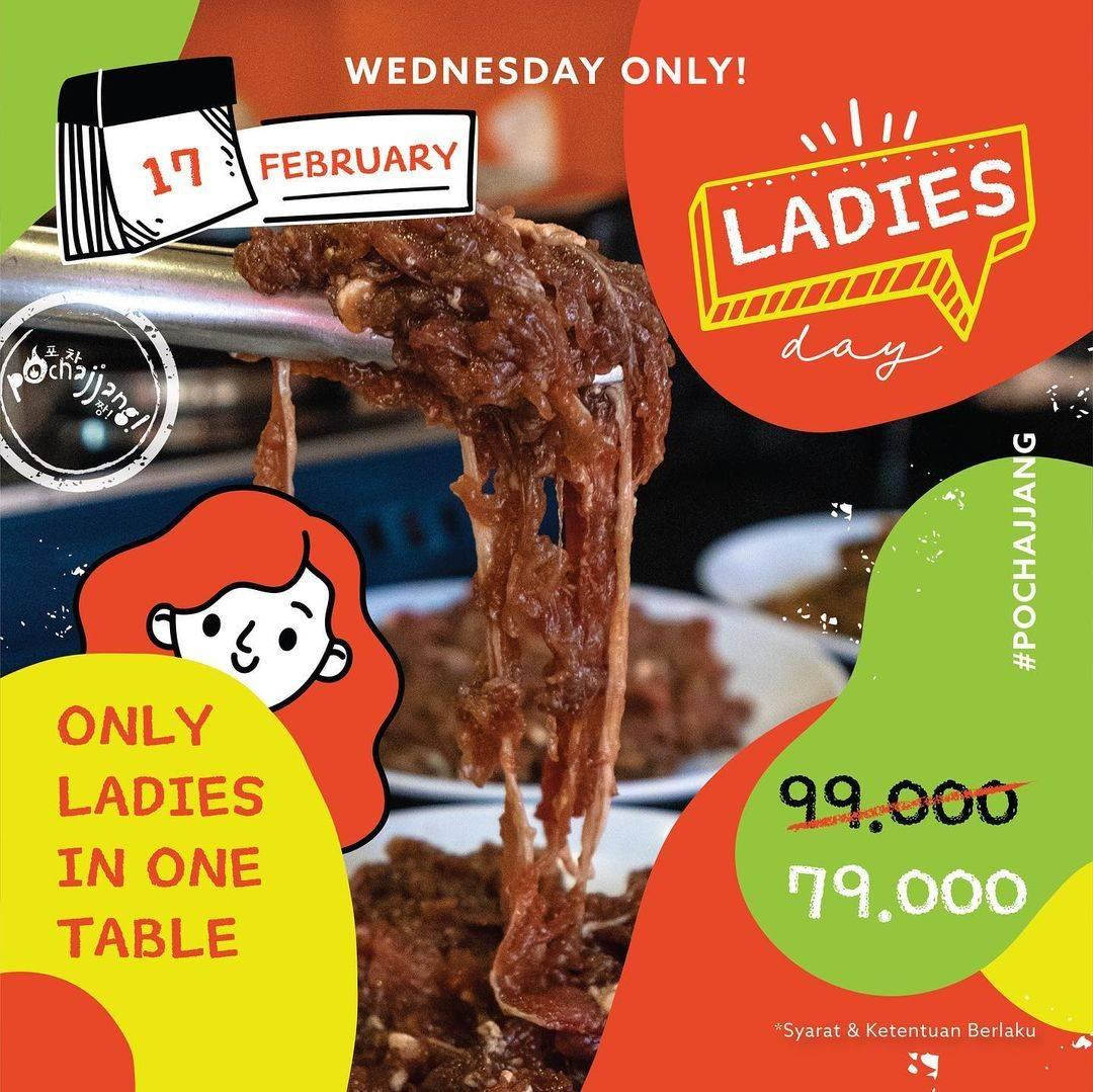 Diskon Pochajjang Promo Ladies Day All You Can Eat Hanya Rp. 79.000