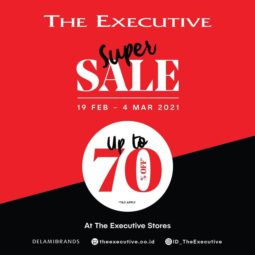 Diskon The Executive Sale Up To 70% Off