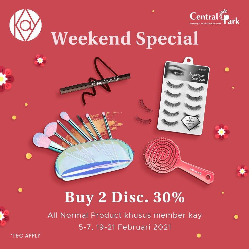 Promo diskon Kay Collection Buy 2 Discount 30% Off
