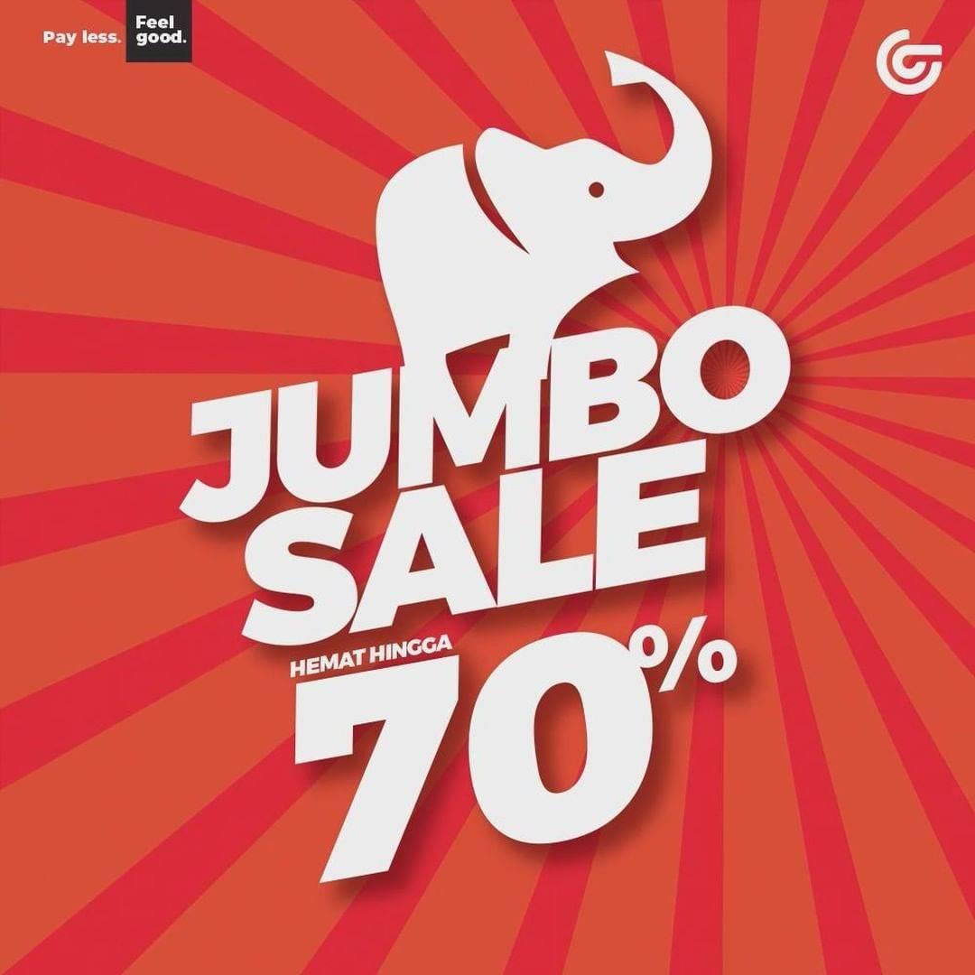 Diskon Matahari Jumbo Sale Hingga 70%