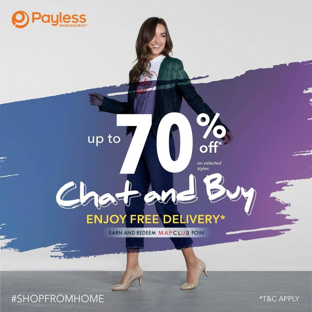 Diskon Payless Discount Up to 70% Off