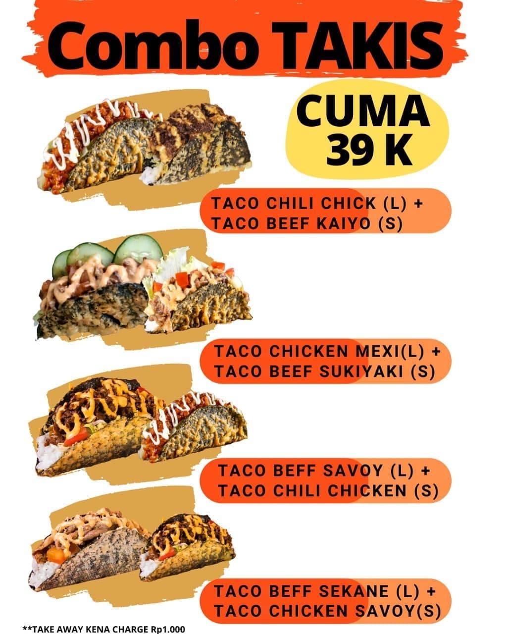 Diskon Kaiza Promo Combo Takis Hanya Rp. 39.000