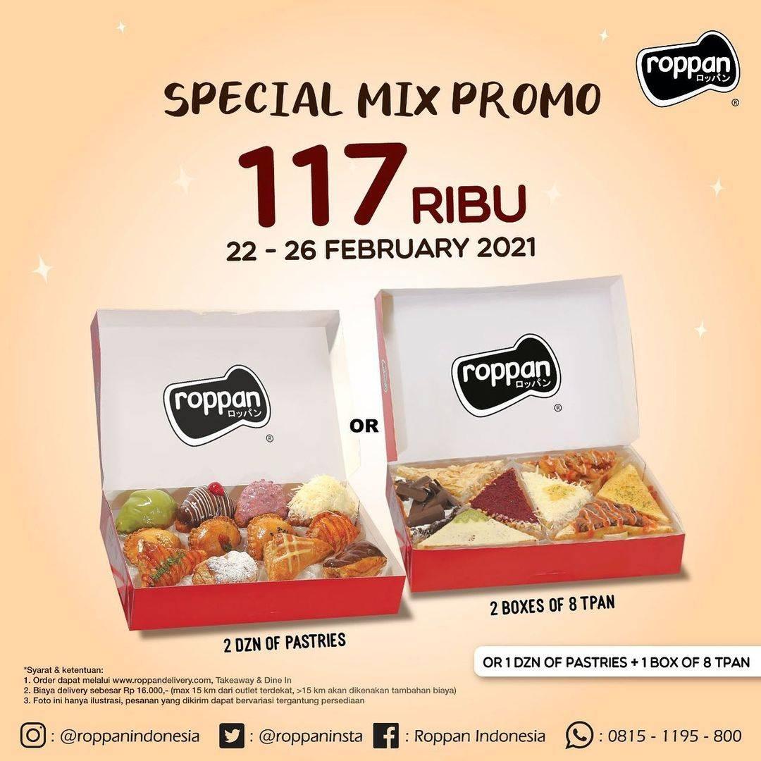 Diskon Roppan Promo Special Mix Hanya Rp. 117.000