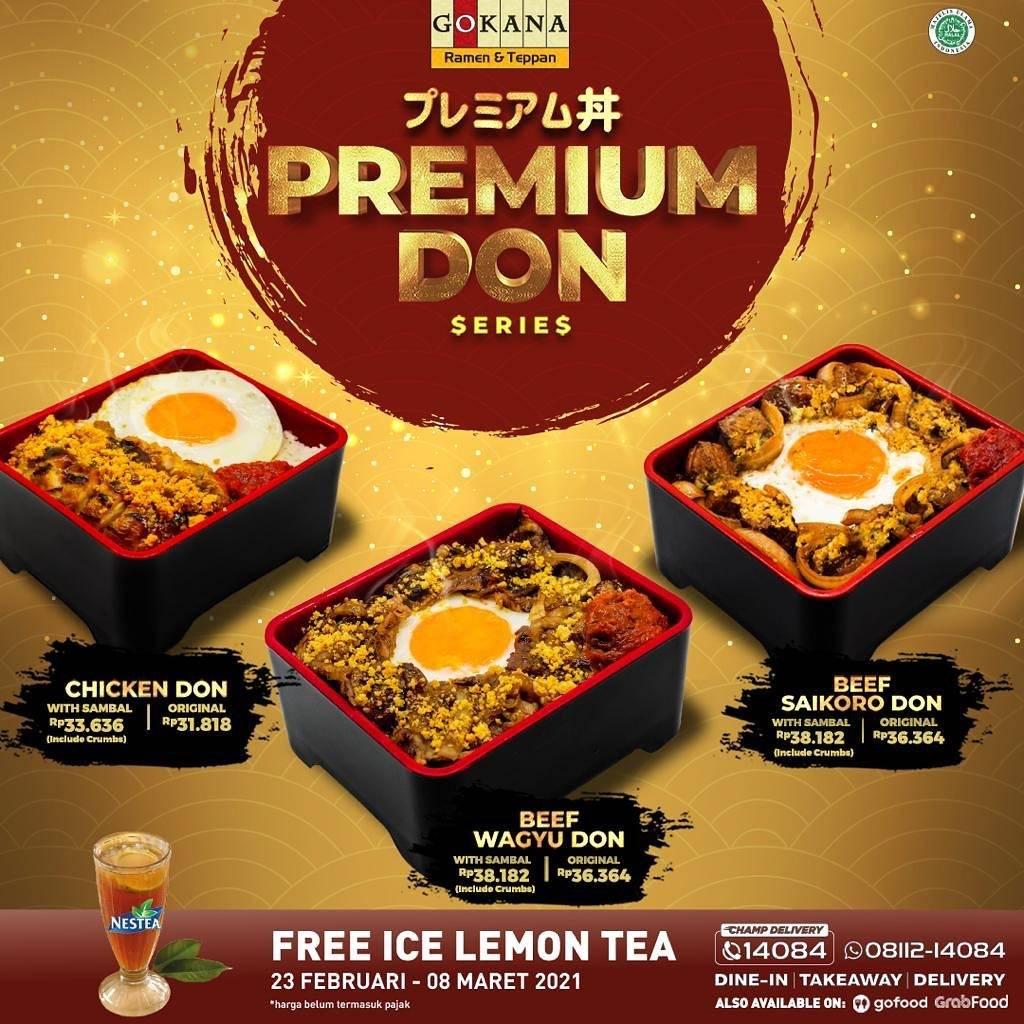 Diskon Gokana Promo Premium Don Series