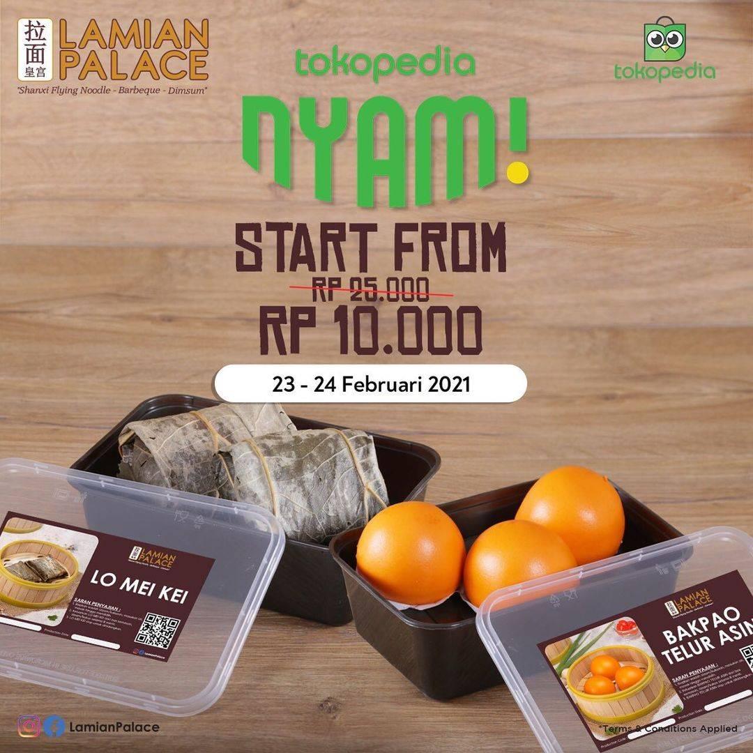 Diskon Lamian Palace Promo Tokopedia Nyam Start From 10.000