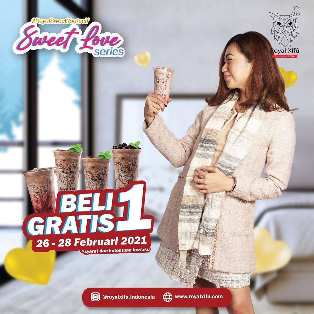 Diskon Royal Xifu Beli 1 Gratis 1 Sweet Love Series