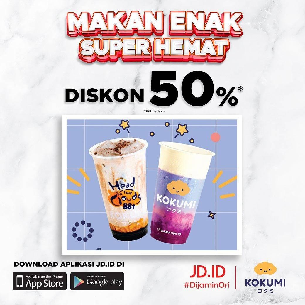 Diskon Kokumi Voucher Diskon 50% Dari JD.ID