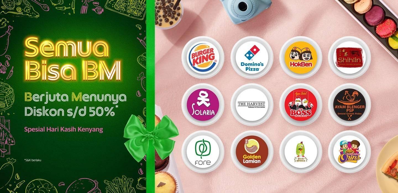 Grabfood Promo Semua Bisa BM, Diskon Hingga 50% Di Resto Pilihan