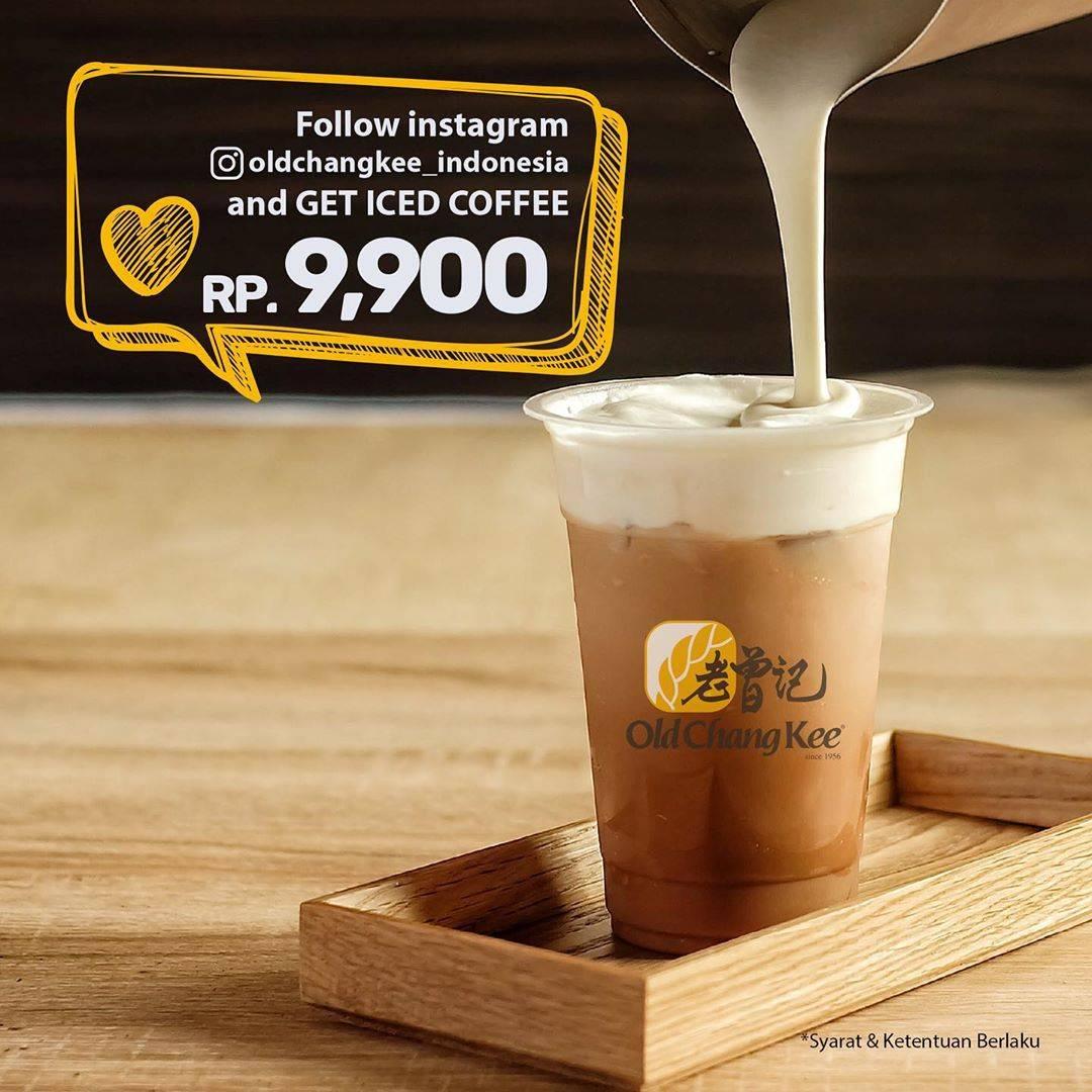 Diskon Old Chang Kee Promo Harga Spesial Iced Coffee Hanya Rp. 9.900