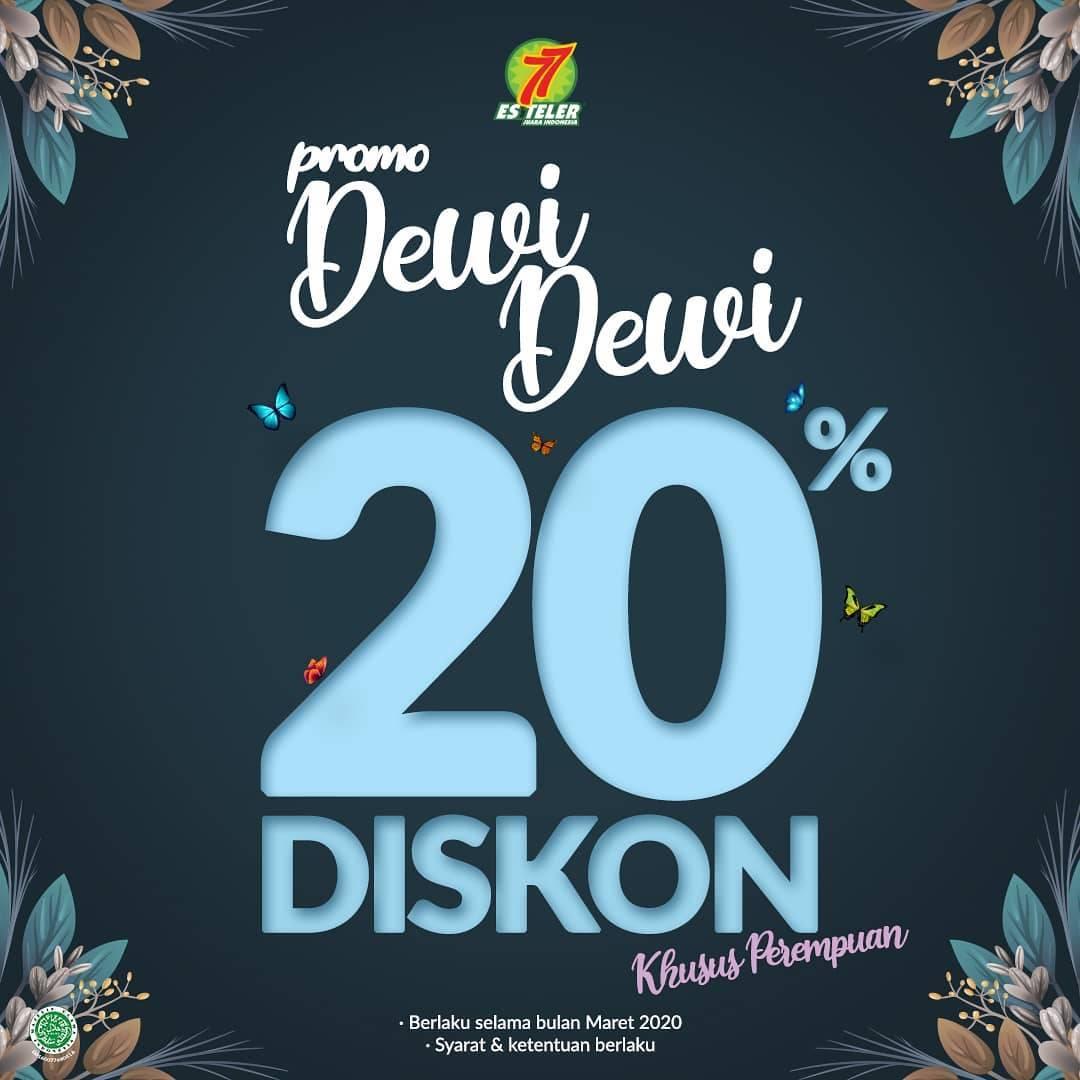 Es Teller 77 Promo Dewi Dewi Bulan Maret