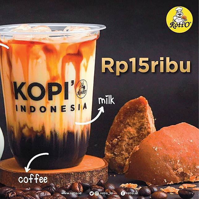 Kopi'O Promo New Kopi'O Series Hanya Rp. 15.000