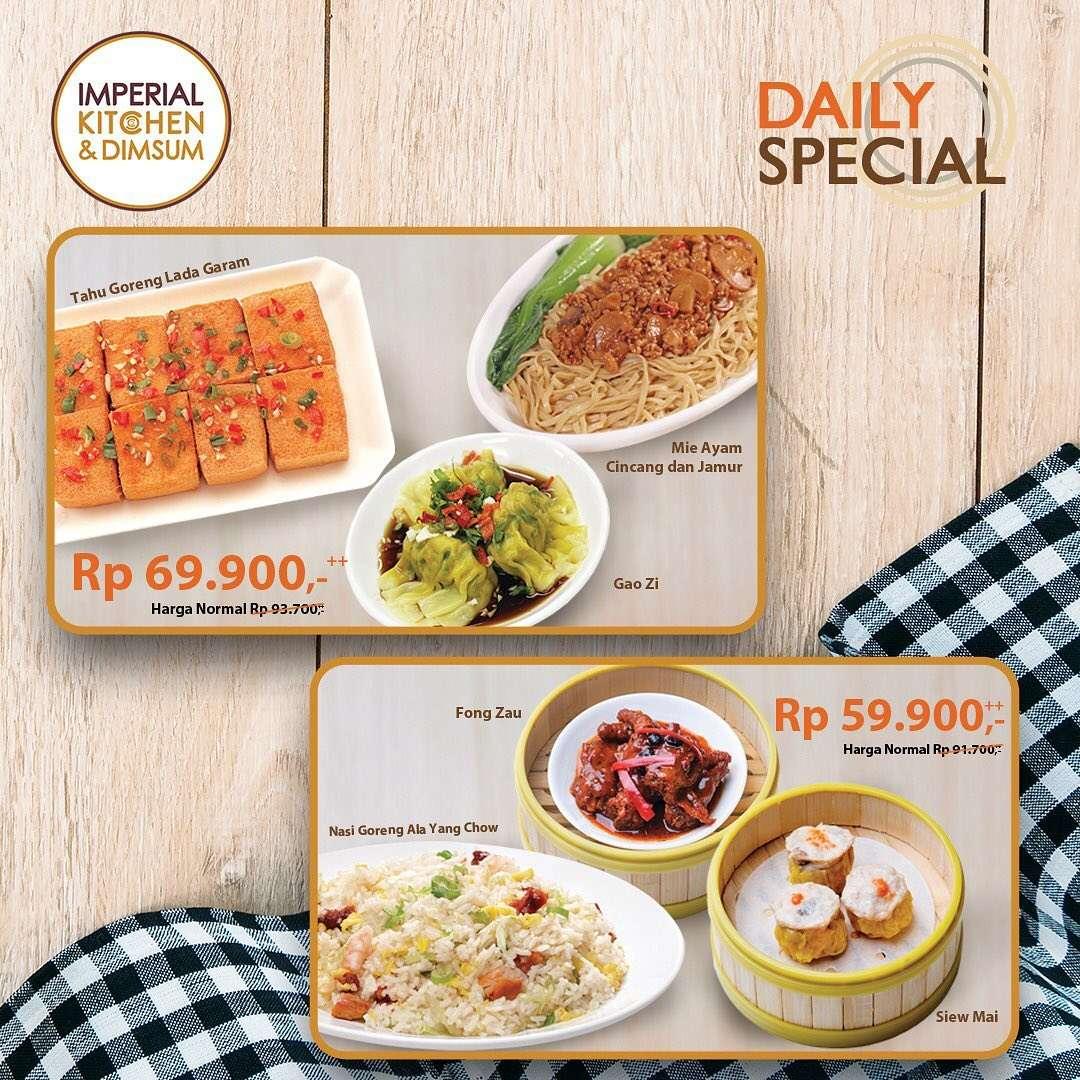 Imperial Kitchen & Dimsum Promo Daily Special Packages Harga Mulai Dari Rp. 59.900