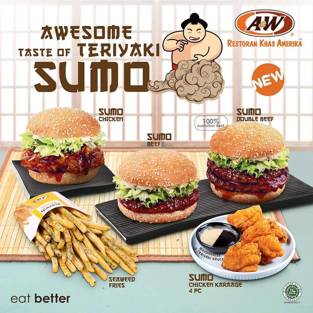 Diskon A&W Restaurants Promo Paket Sumo Dengan Harga Rp. 48.500 ++