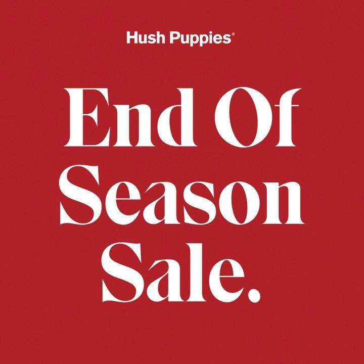 Hush Puppies Season Sale Discount Up To 50% Off