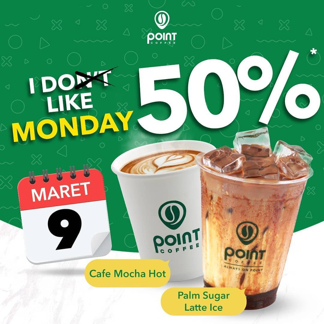 Indomaret Point Coffee Promo Happy Monday, Diskon 50% Untuk Minuman Pilihan