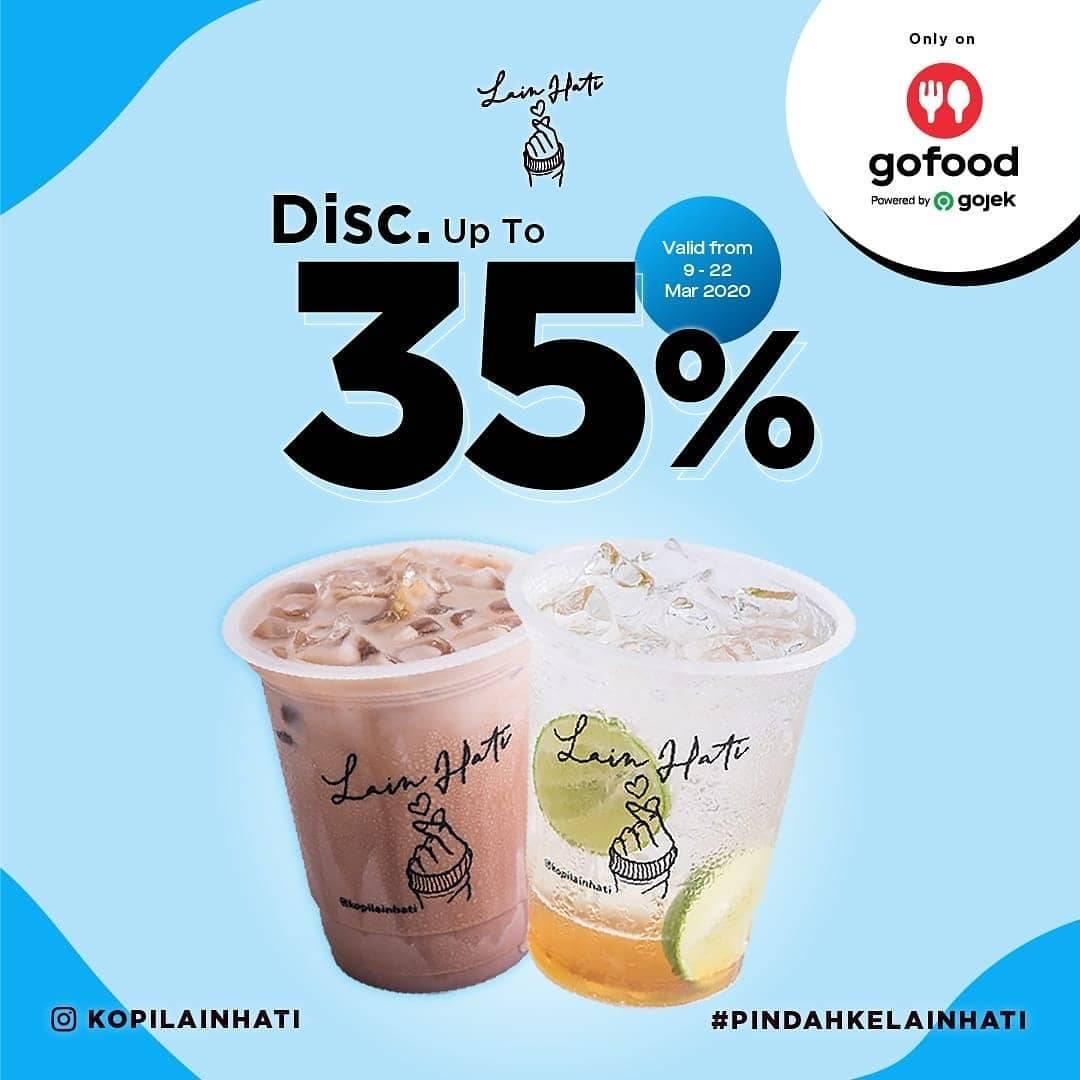 Kopi Lain Hati Promo Diskon Hingga 35% Pembelian Melalui Gofood