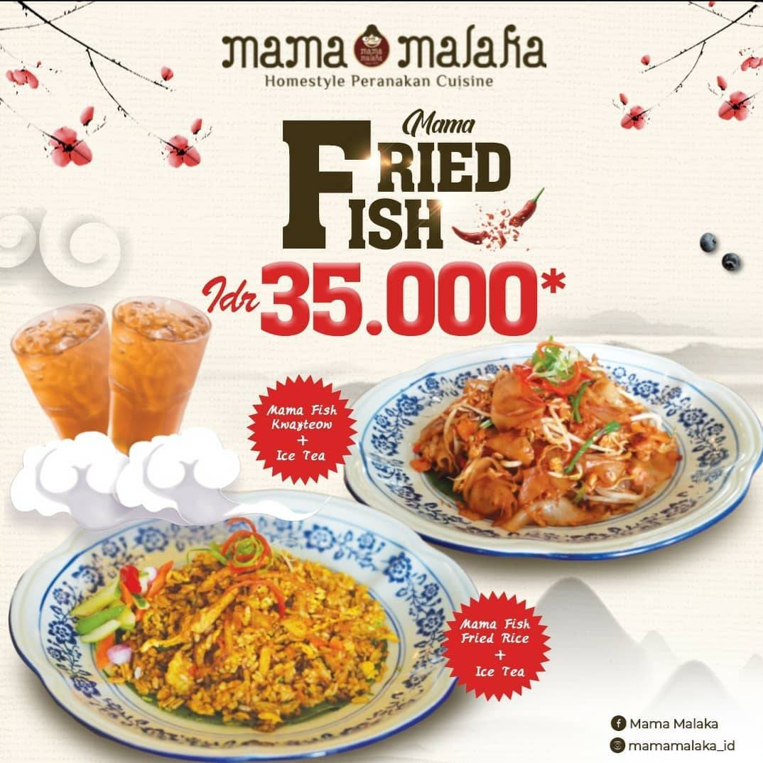 Mama Malaka Promo Mama Fried Fish Cuma Rp. 35.000