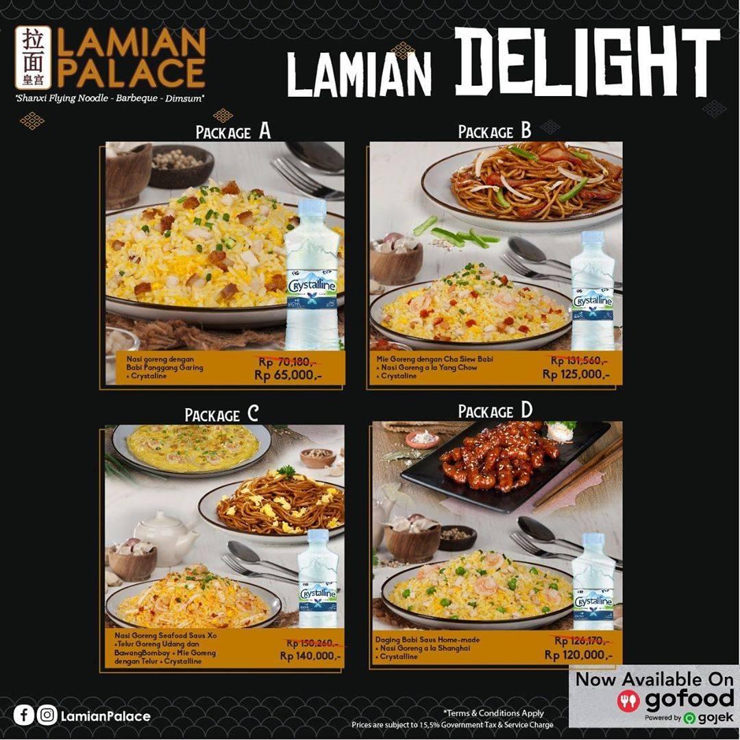 Lamian Palace Promo Lamian Delight Harga Mulai Dari Rp. 65.000