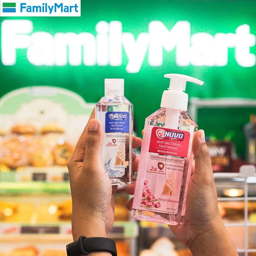 Family Mart Promo Hand Sanitizer Nuvo Harga Mulai Dari Rp. 7.200