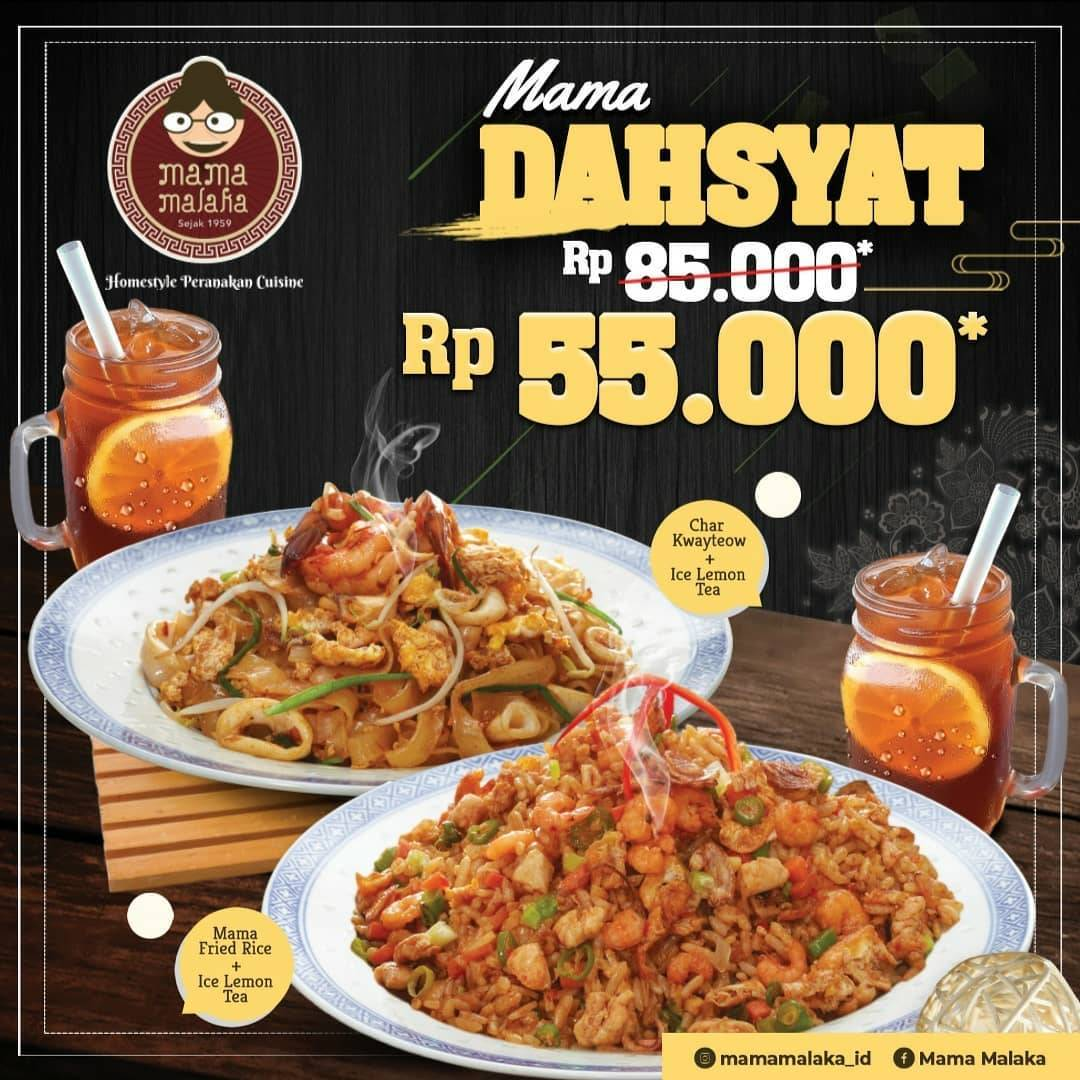 Mama Malaka Mal Bali Galeria Promo Mama Dahsyat Cuma Rp. 55.000