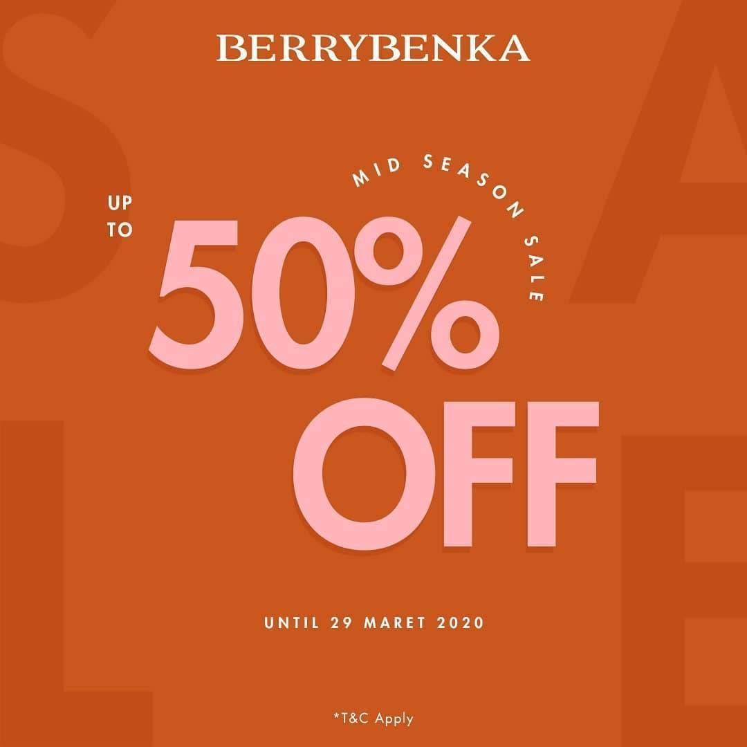 Berry Benka Promo Mid Season Sale Up To 50% Off
