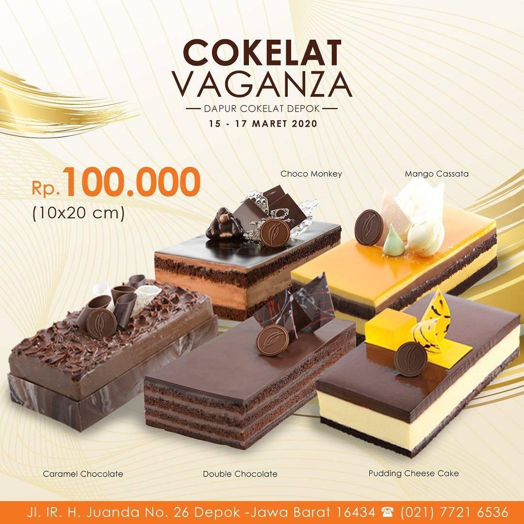 Dapur Cokelat Depok Promo Loaf Cake Hanya Rp. 100.000