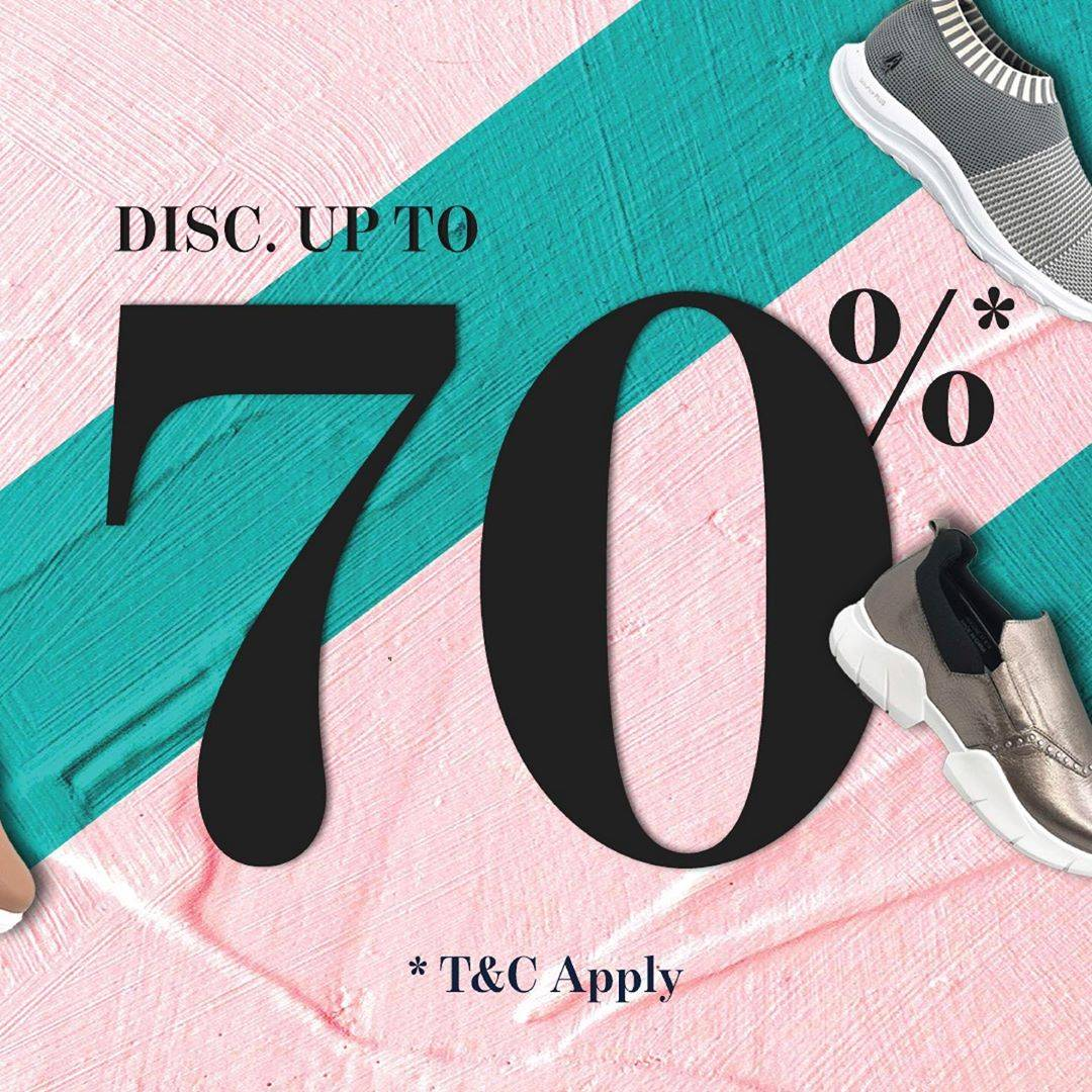 Metro Department Store Promo Discount 70% Off For Selected Sneakers