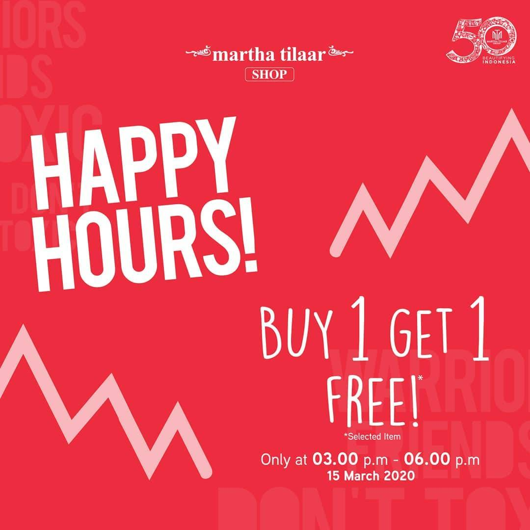 Diskon Marthatilaar Shop Promo Buy 1 Get 1 For Selected Items
