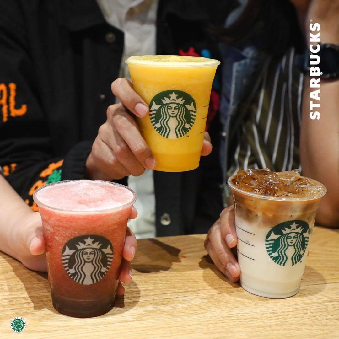 Starbucks Promo Beli 2 Gratis 1 Menggunakan Kartu Kredit, Kartu Debit, Dan Flazz BCA
