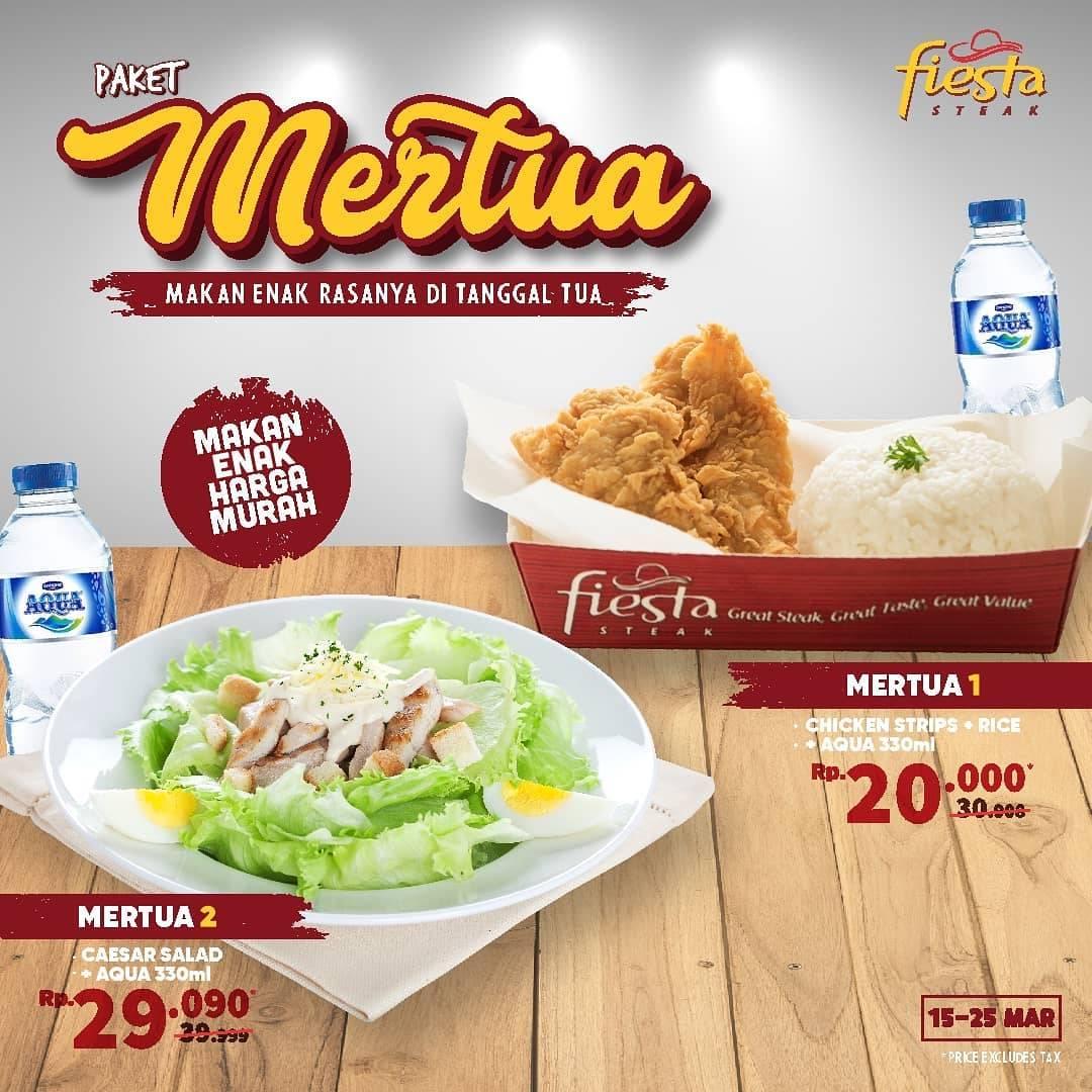 Fiesta Steak Promo Paket Mertua Harga Mulai Dari Rp. 20.000