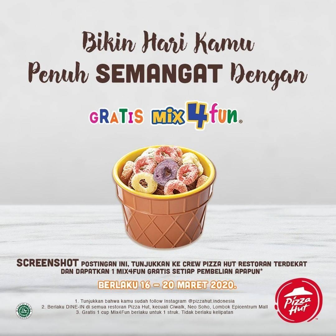 Pizza Hut Promo Gratis Ice Cream Mix4Fun