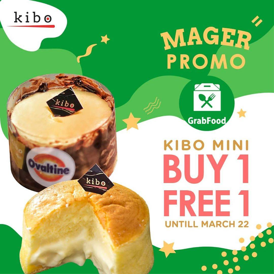 Kibo Cheese Promo Mager, Buy 1 Get 1 Free On Grabfood