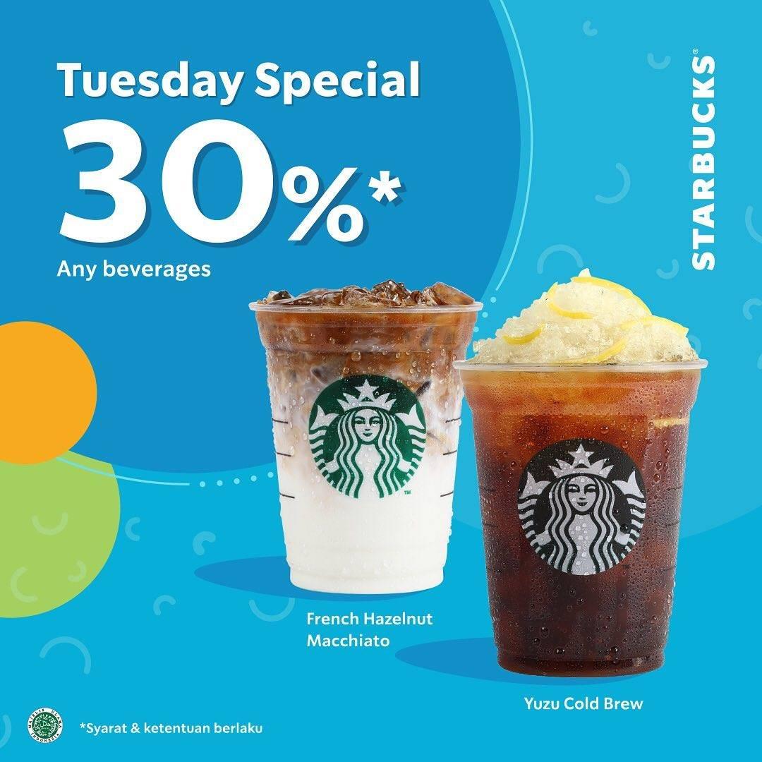 Diskon Starbucks Promo Diskon 30% Untuk Minuman Favoritmu Pembayaran Dengan Gopay