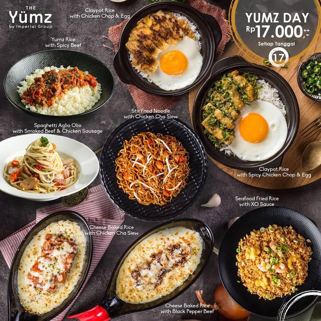 Diskon The Yumz Promo Yumz Day, Harga Spesial Menu Pilihan Cuma Rp. 17.000
