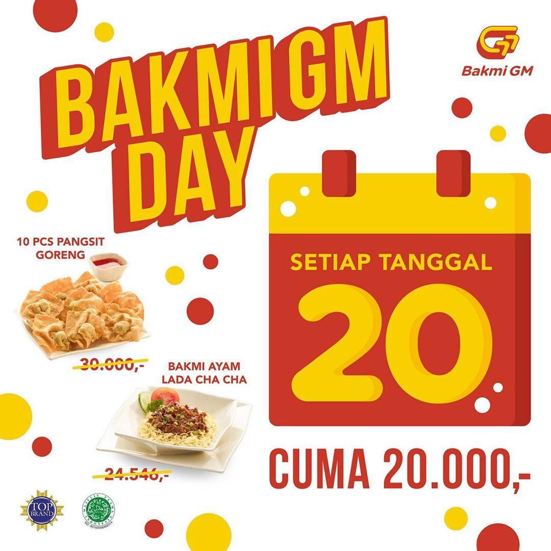 Bakmi GM Promo Bakmi GM Day, Beli Menu Pilihan Cuma Rp. 20.000