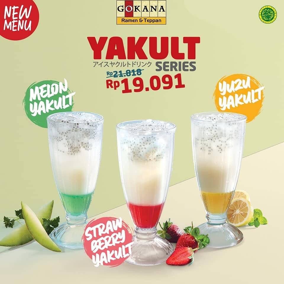Gokana Resto Promo Yakult Series Hanya Rp. 19.091