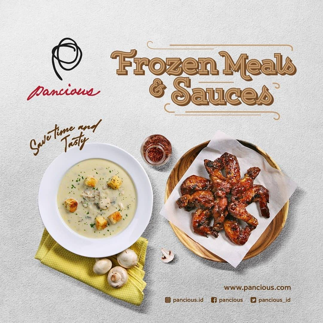 Pancious Promo Special Price For Frozen Meals & Sauces Start From Rp. 25.000