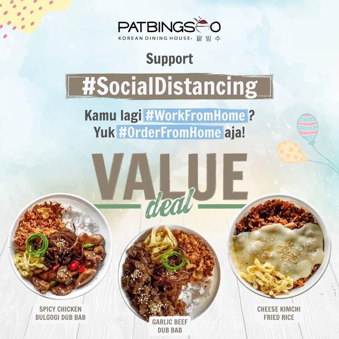 Pat Bing Soo Promo Spesial Dari Gofood, Beli 2 Menu Pilihan Hanya Rp. 50.000