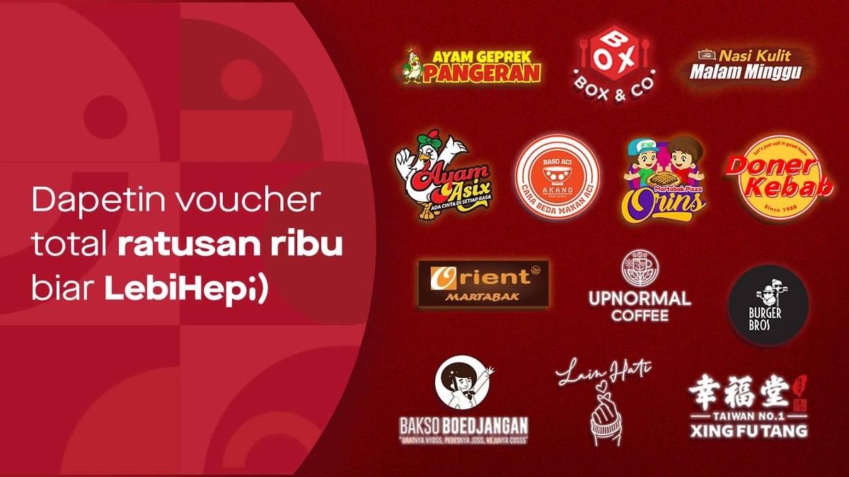 Diskon Gofood Promo Voucher Diskon Hingga Rp. 50.000 Di Resto Pilihan
