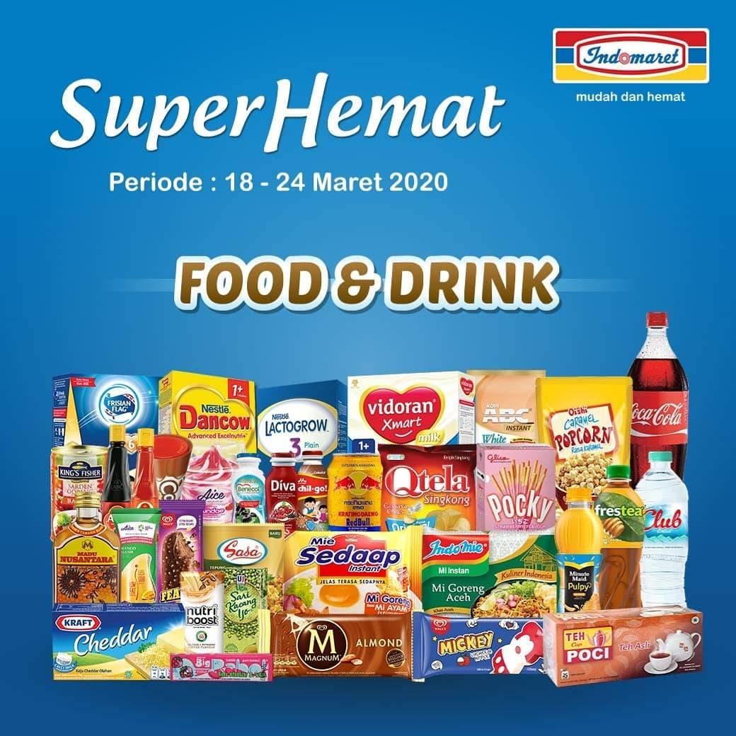 Indomaret Promo Katalog Super Hemat Periode 18-24 Maret 2020