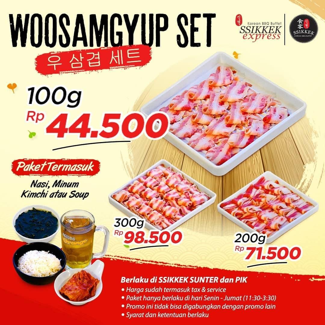 Ssikkek Promo Paket Woosamgyup Harga Mulai Dari Rp. 44.500